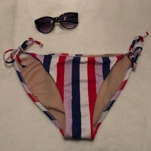 Striped Bikini Bottoms